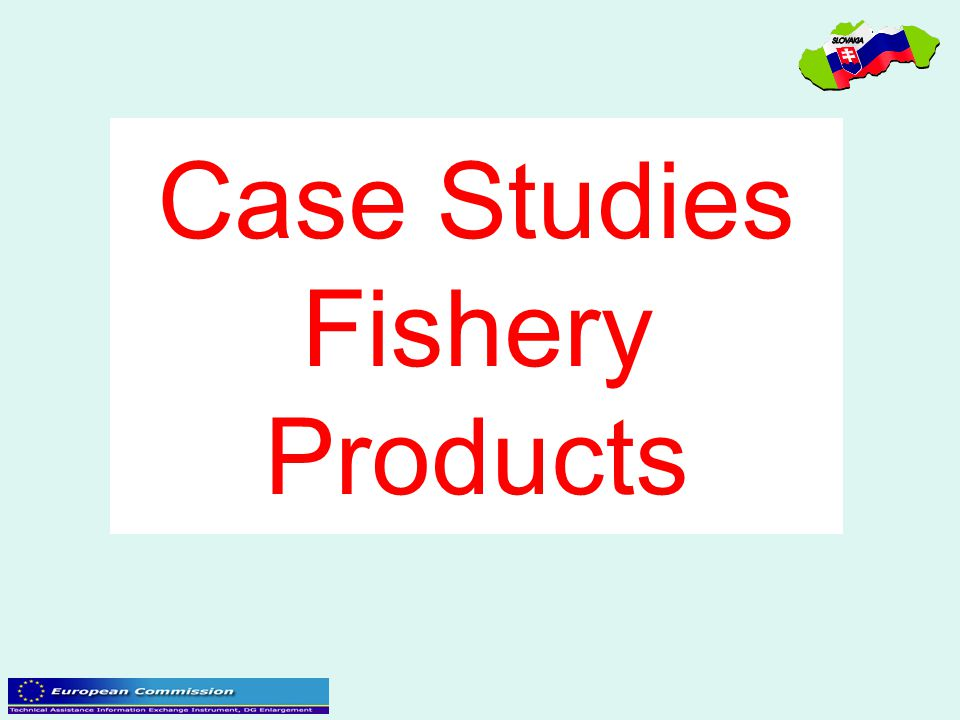 Case Studies Fishery Products
