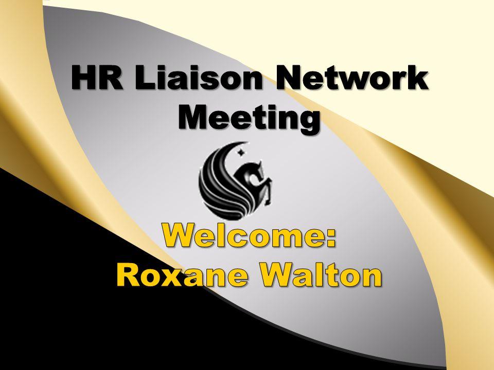 HR Liaison Network Meeting