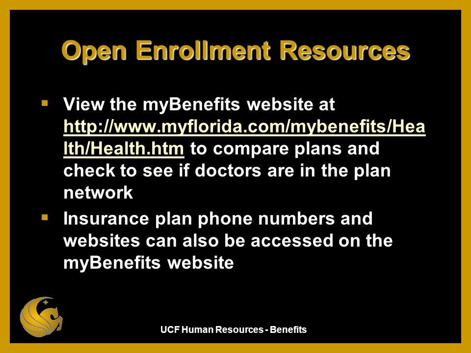 Open Enrollment Resources