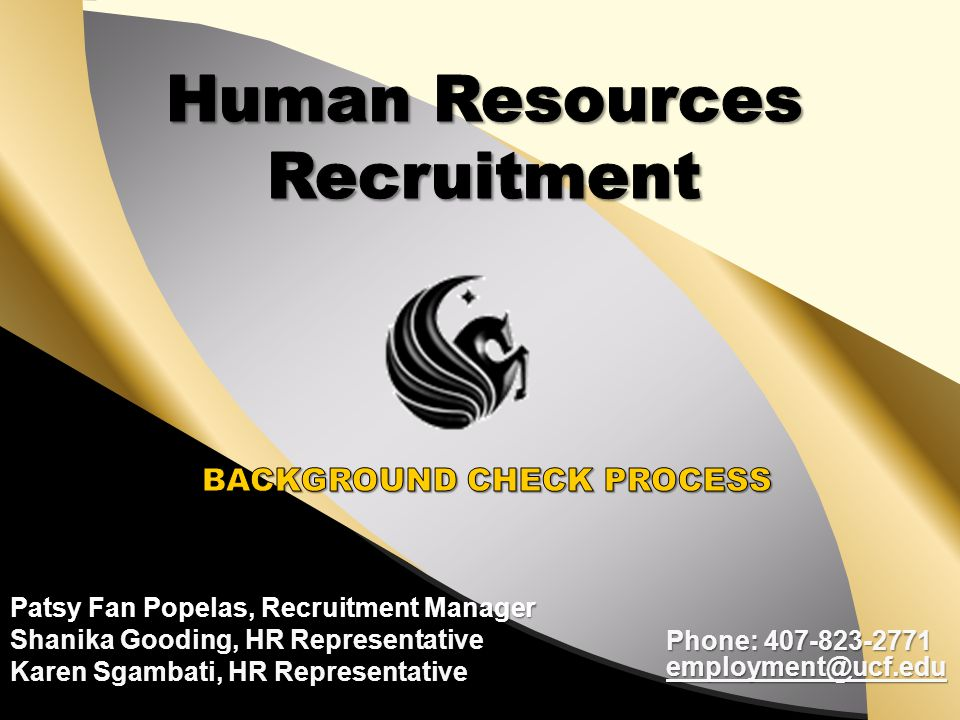 Human Resources Recruitment
