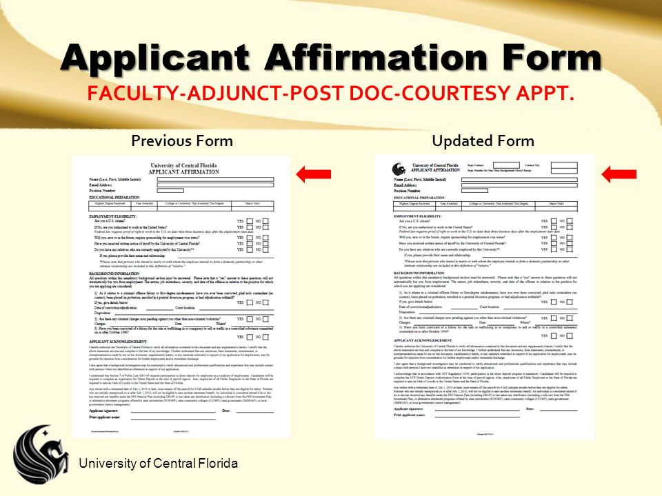 Applicant Affirmation Form Faculty-adjunct-post doc-courtesy appt.
