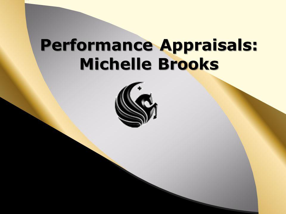 Performance Appraisals: Michelle Brooks