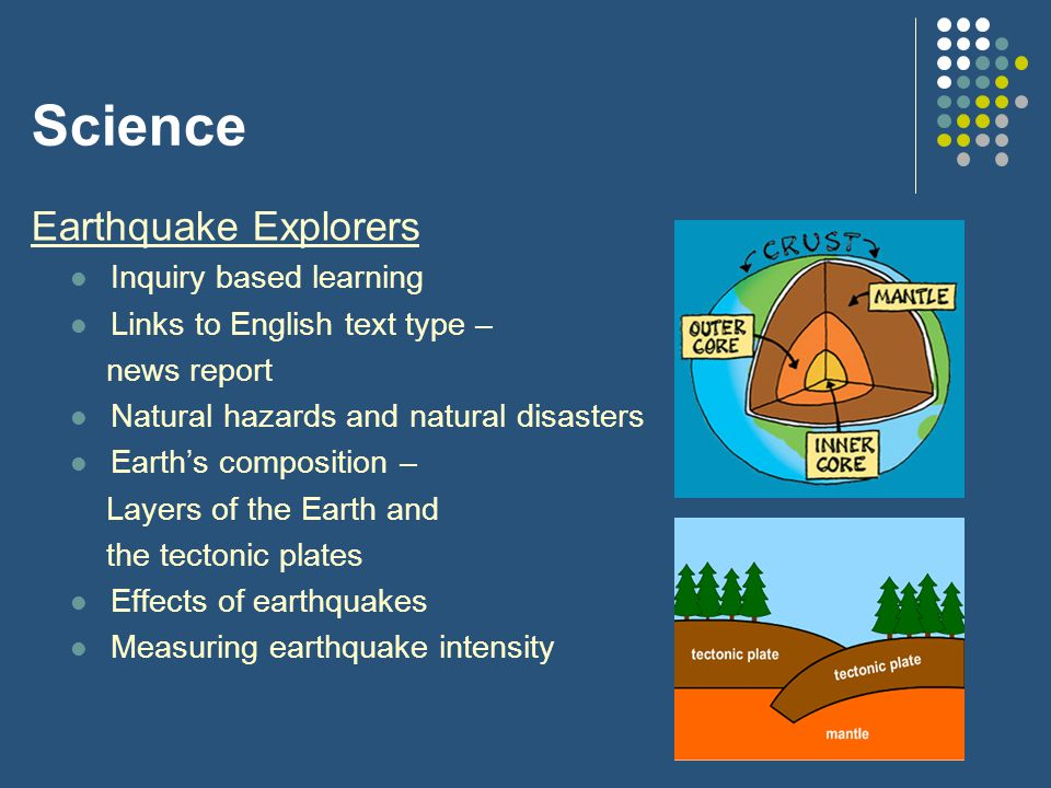 Science Earthquake Explorers Inquiry based learning