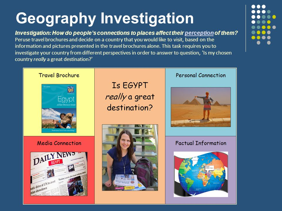 Geography Investigation