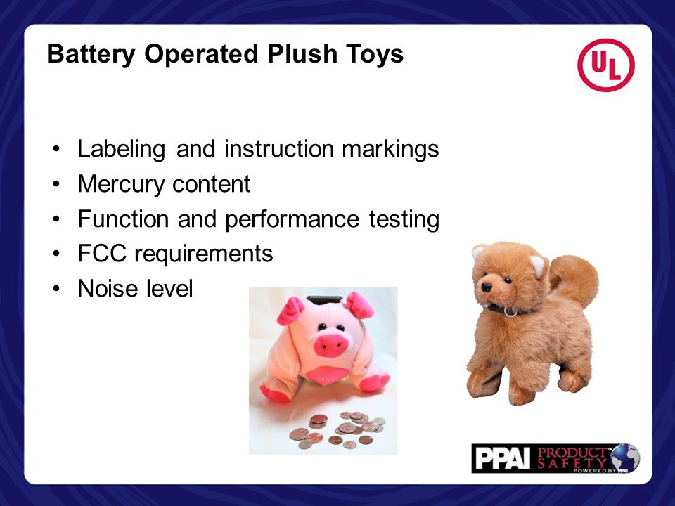 Battery Operated Plush Toys