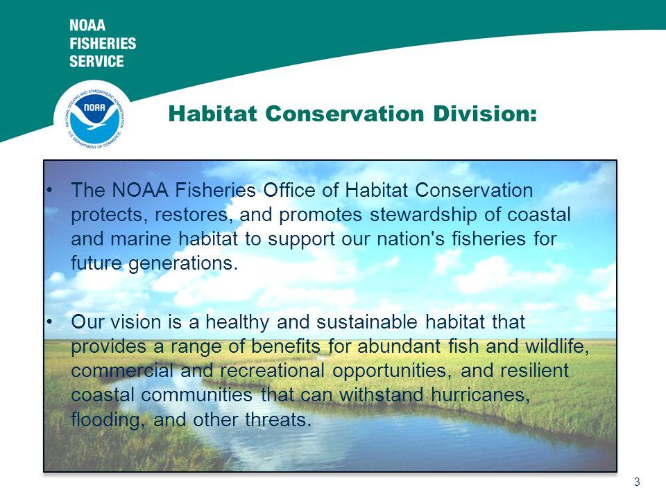 Habitat Conservation Division: