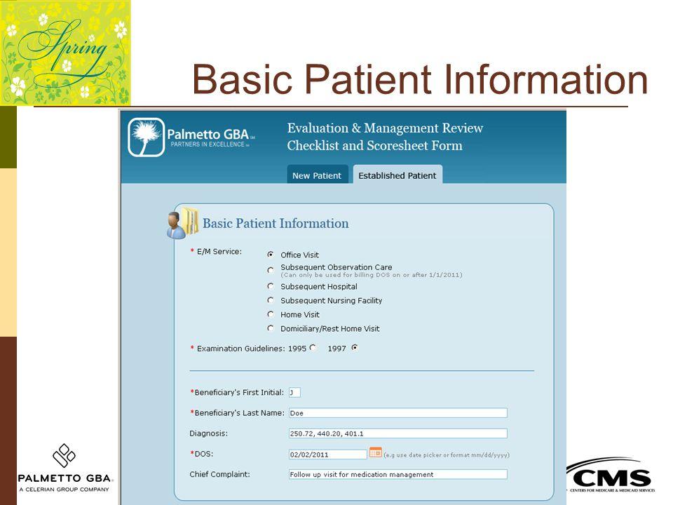 Basic Patient Information