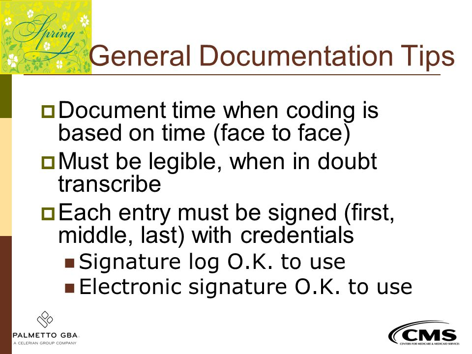 General Documentation Tips