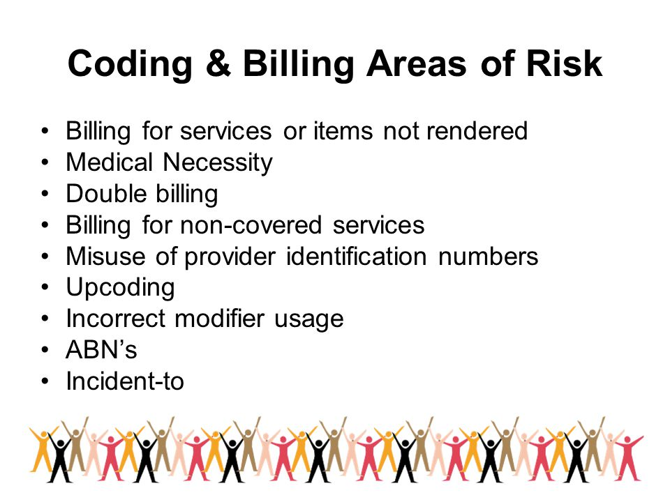 Coding & Billing Areas of Risk