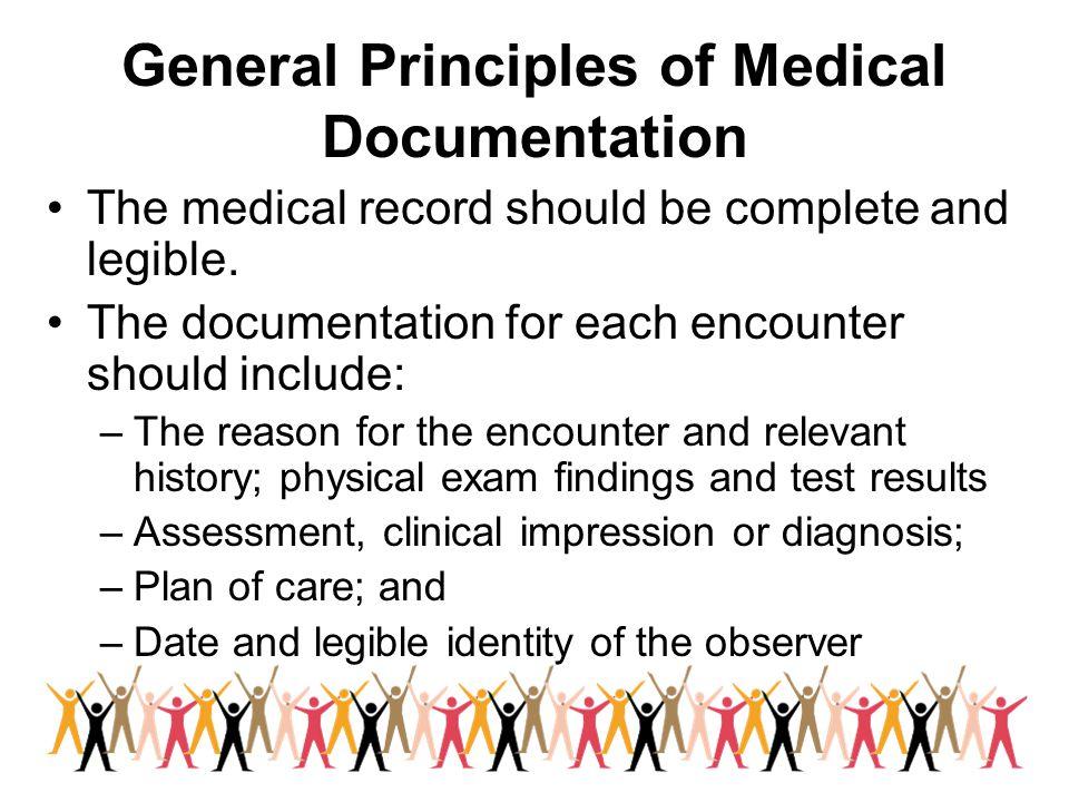 General Principles of Medical Documentation