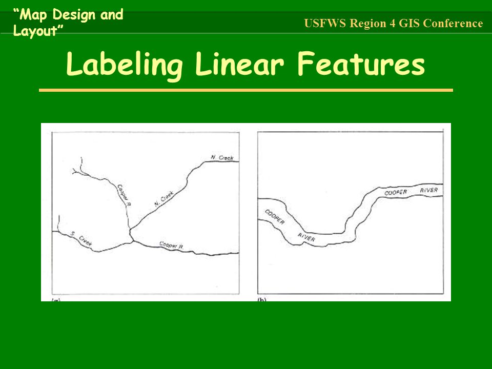Labeling Linear Features