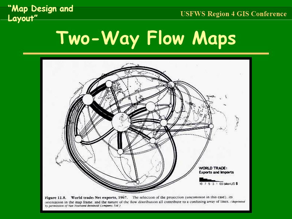 Two-Way Flow Maps Map Design and Layout