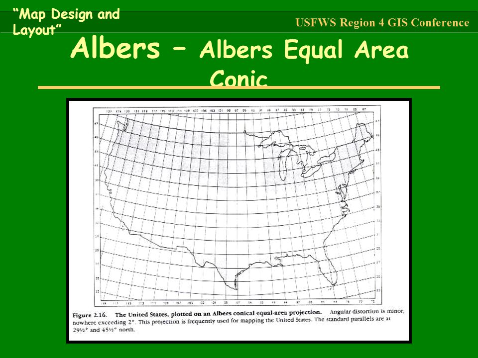 Albers – Albers Equal Area Conic