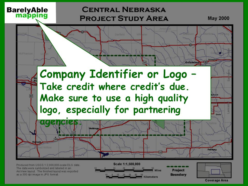 Company Identifier or Logo – Take credit where credit's due