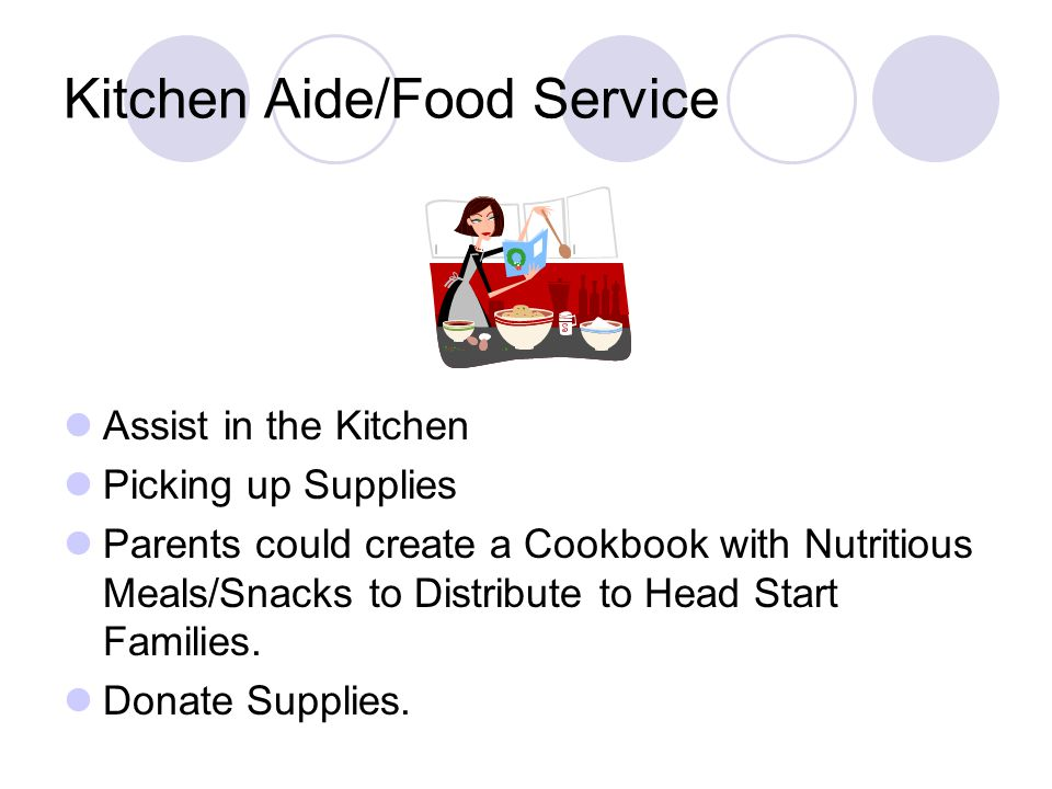 Kitchen Aide/Food Service