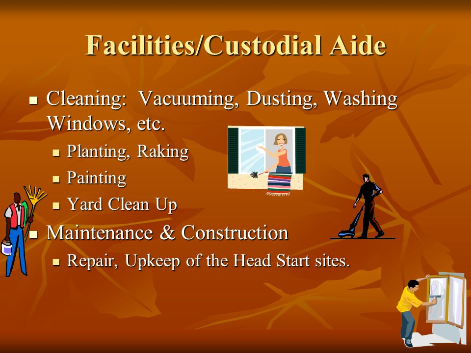Facilities/Custodial Aide