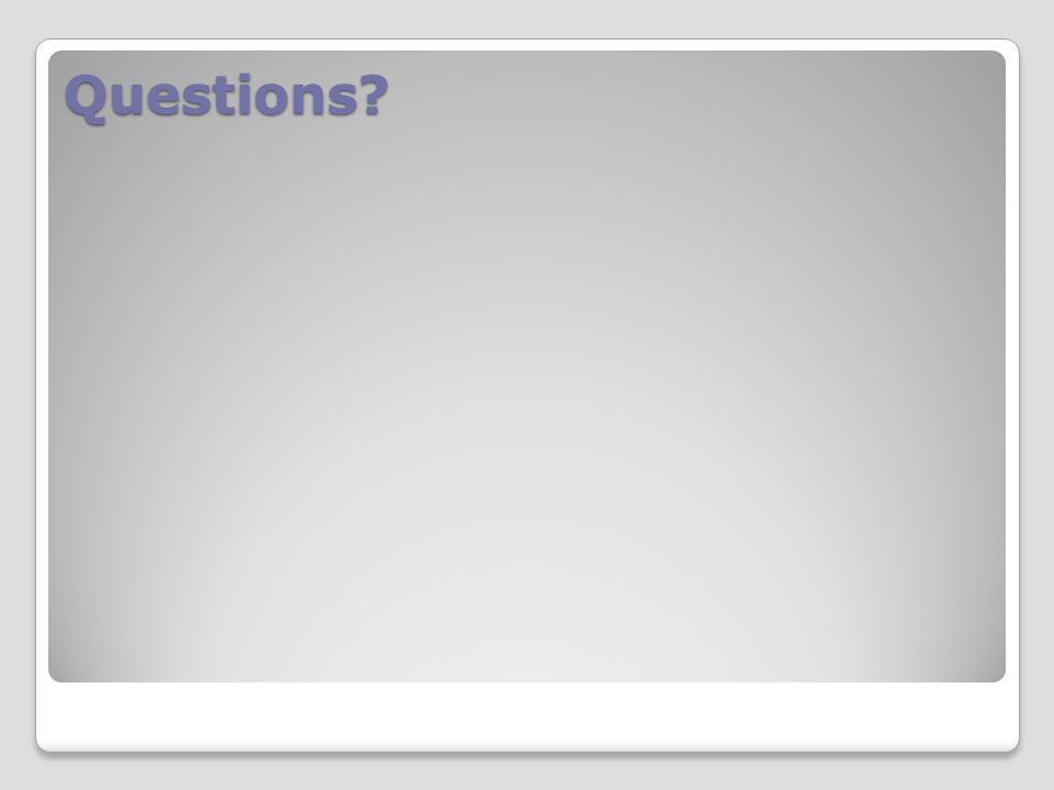 Questions Answer questions and distribute the quizzes.