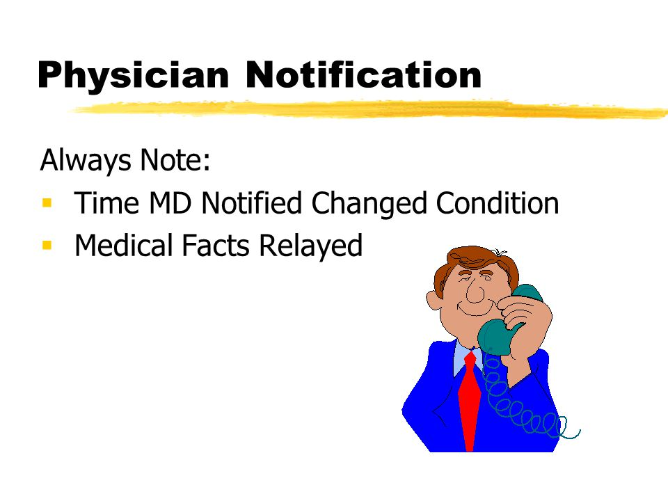 Physician Notification