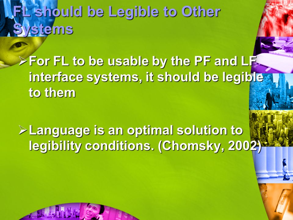 FL should be Legible to Other Systems