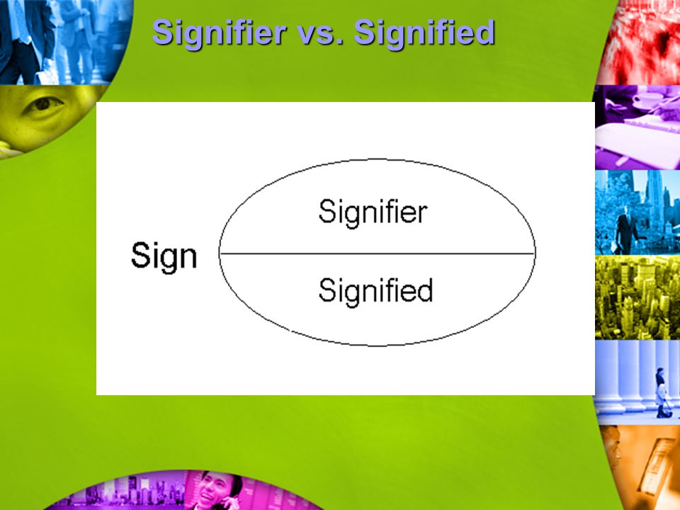 Signifier vs. Signified