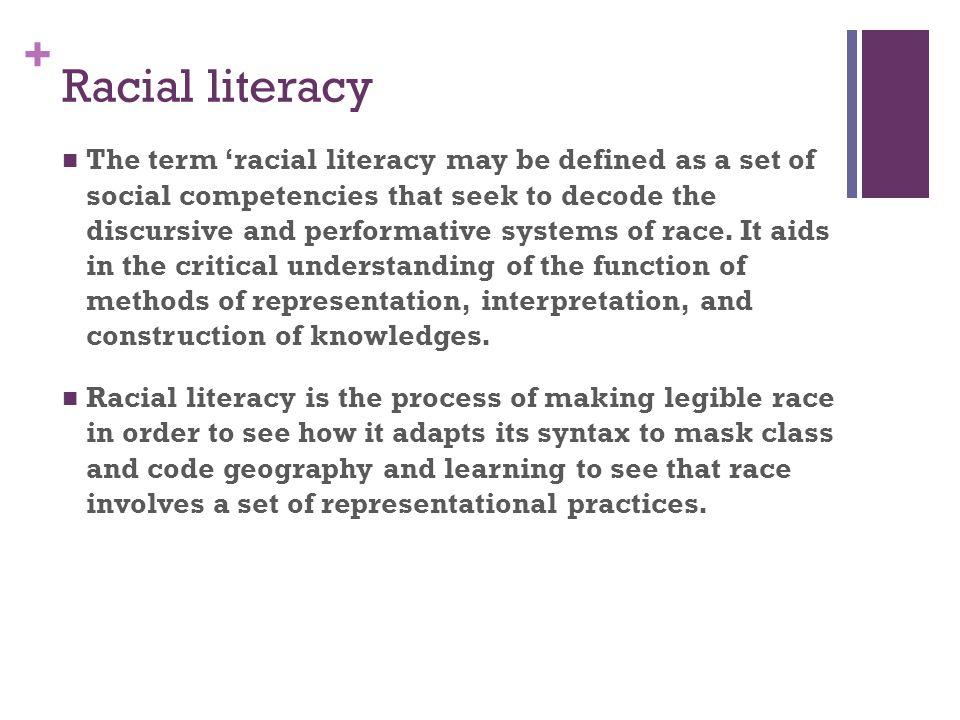 Racial literacy