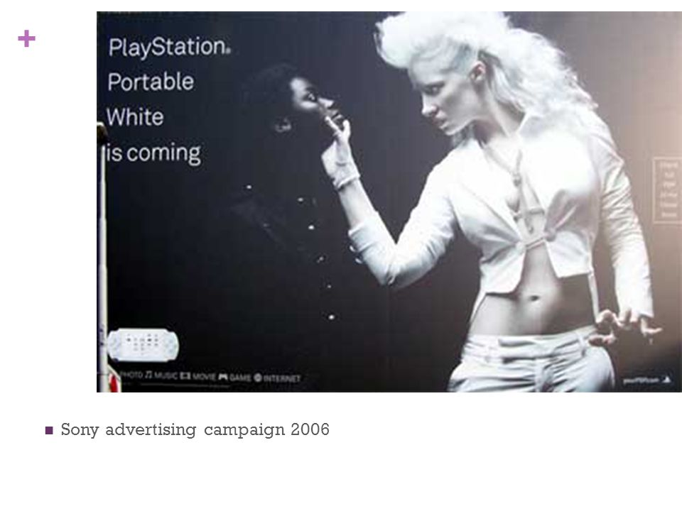 Sony advertising campaign 2006