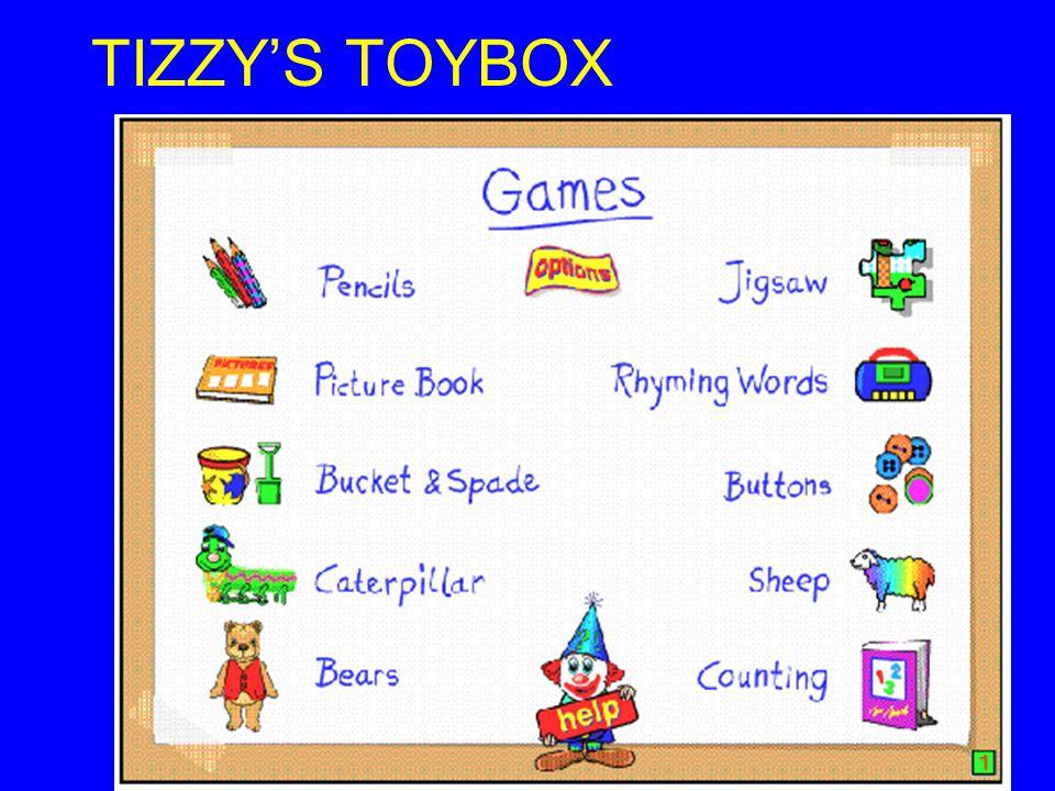 TIZZY'S TOYBOX (Sherston)