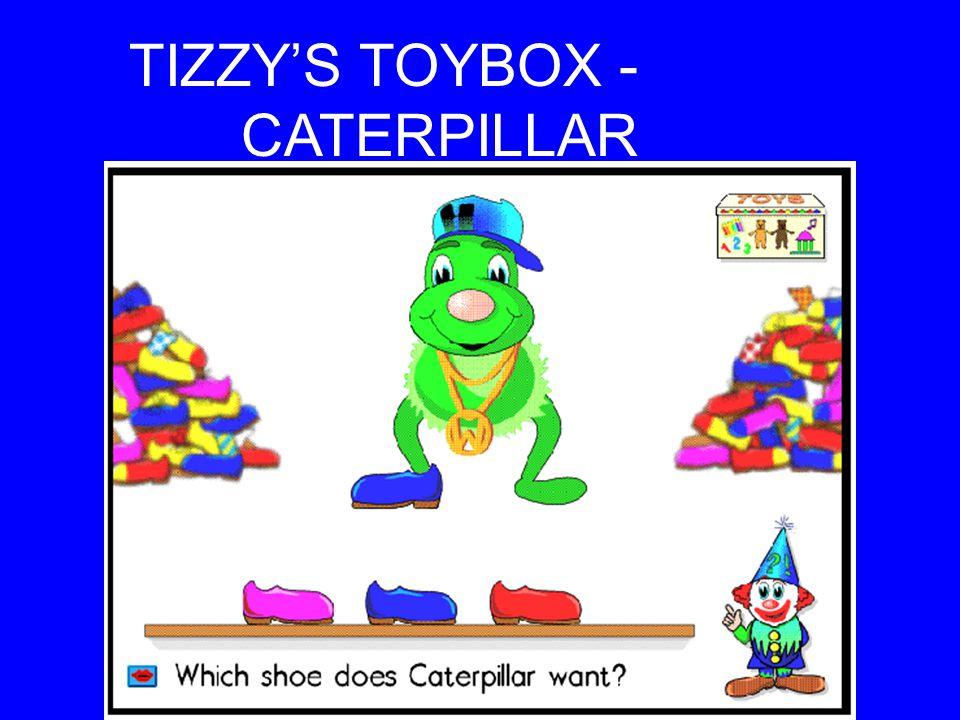 TIZZY'S TOYBOX - CATERPILLAR