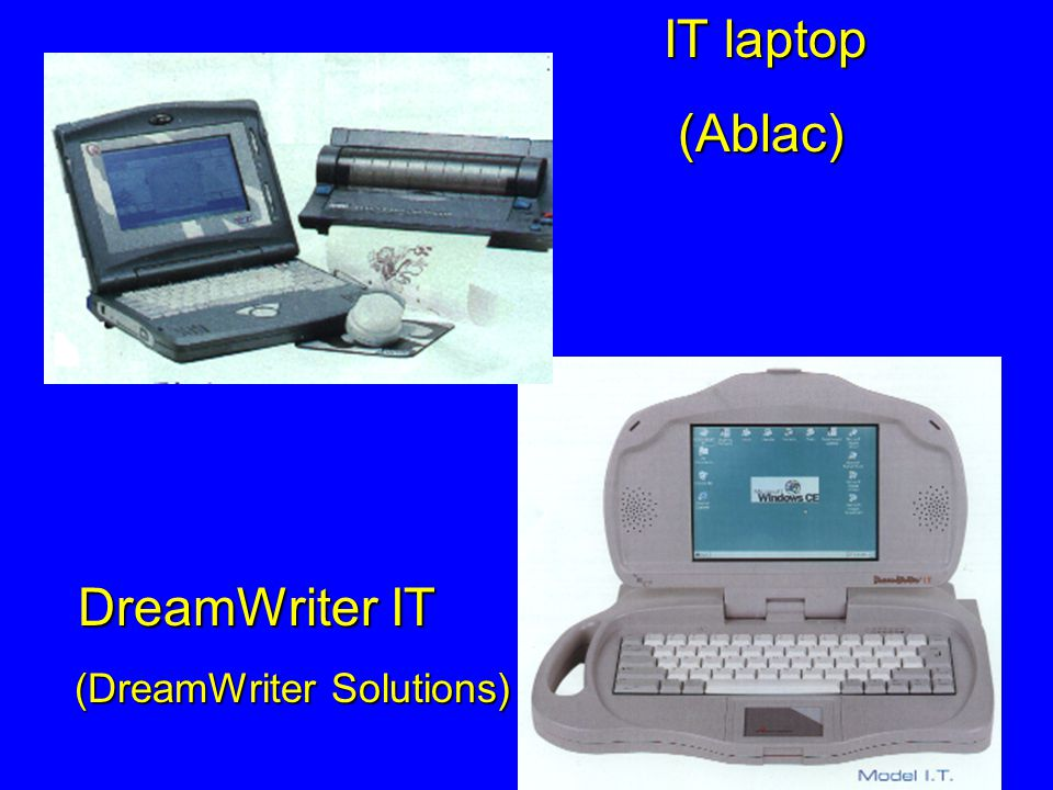 IT laptop (Ablac) DreamWriter IT (DreamWriter Solutions)
