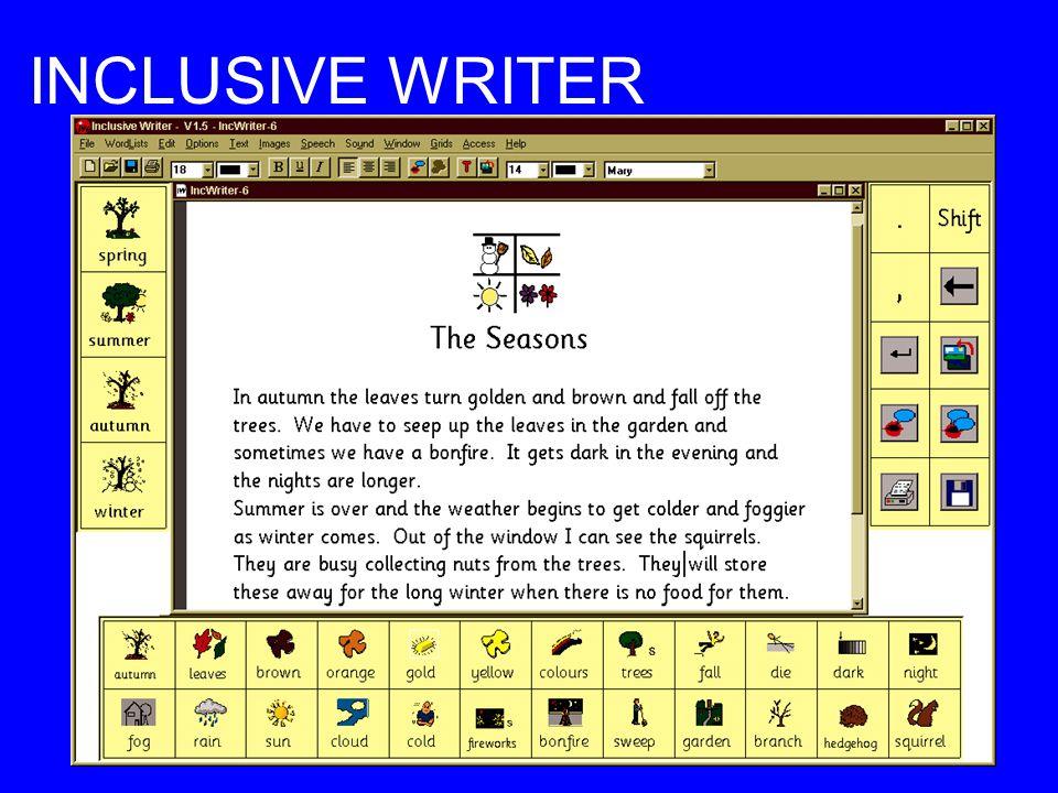 INCLUSIVE WRITER