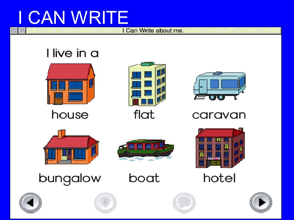 I CAN WRITE I can write (Resource)