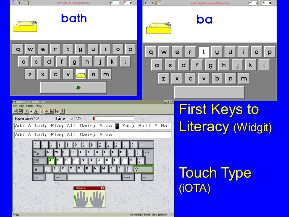First Keys to Literacy (Widgit)
