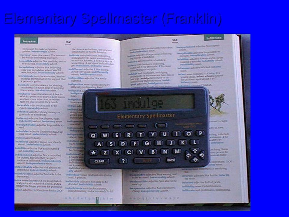 Elementary Spellmaster (Franklin)