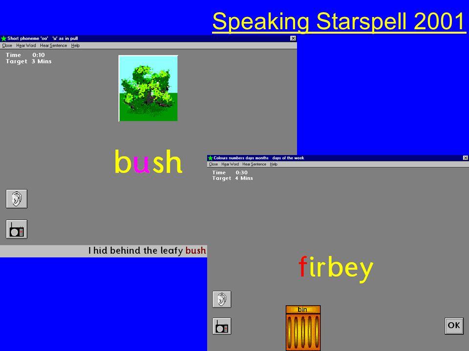 Speaking Starspell 2001