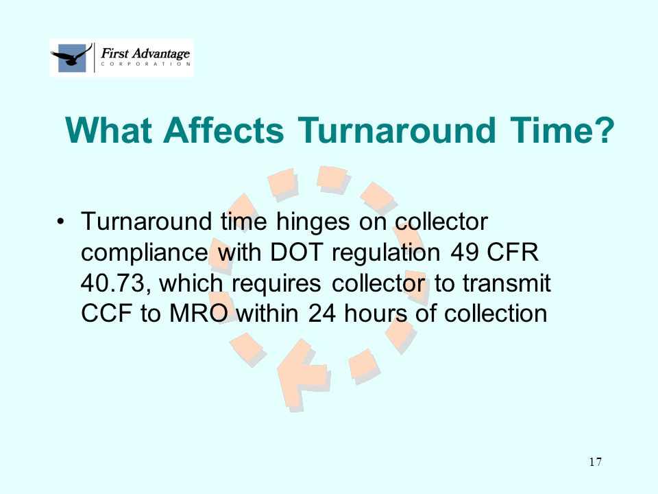 What Affects Turnaround Time