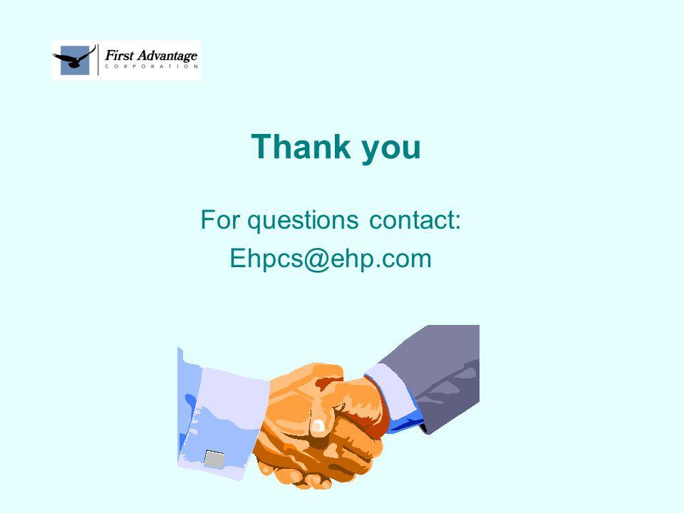 For questions contact: Ehpcs@ehp.com