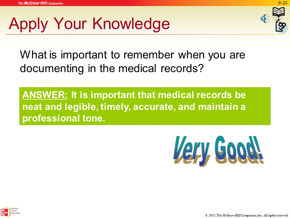 Apply Your Knowledge Very Good!