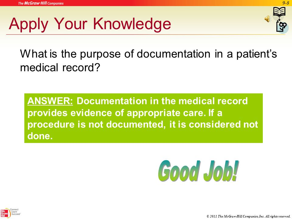 Apply Your Knowledge Good Job!