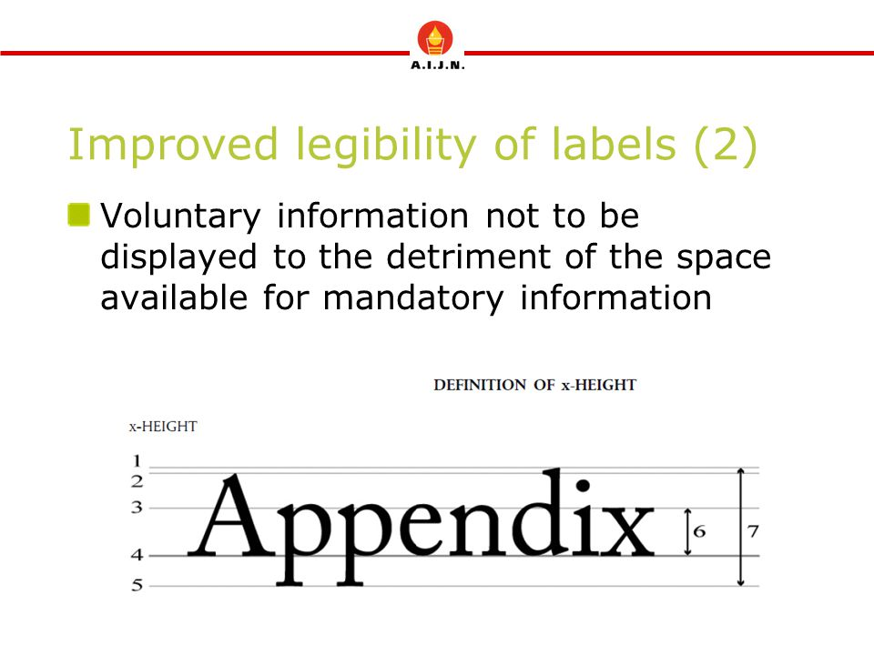 Improved legibility of labels (2)