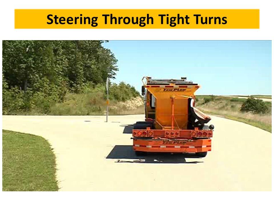 Steering Through Tight Turns