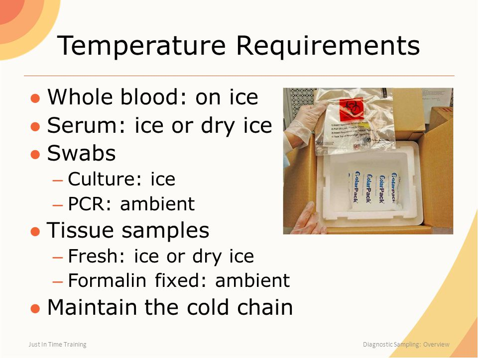 Temperature Requirements