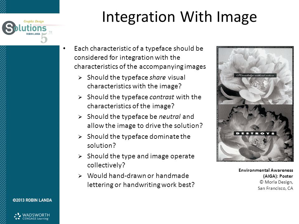 Integration With Image