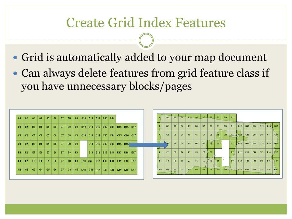 Create Grid Index Features