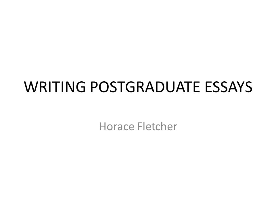 postgraduate essay Make your scholarship application essay exclusive to you,  please tell me  specifically about post graduate courses in journalism.