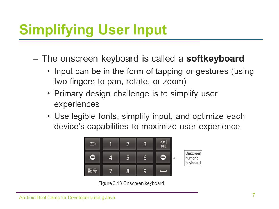 Simplifying User Input