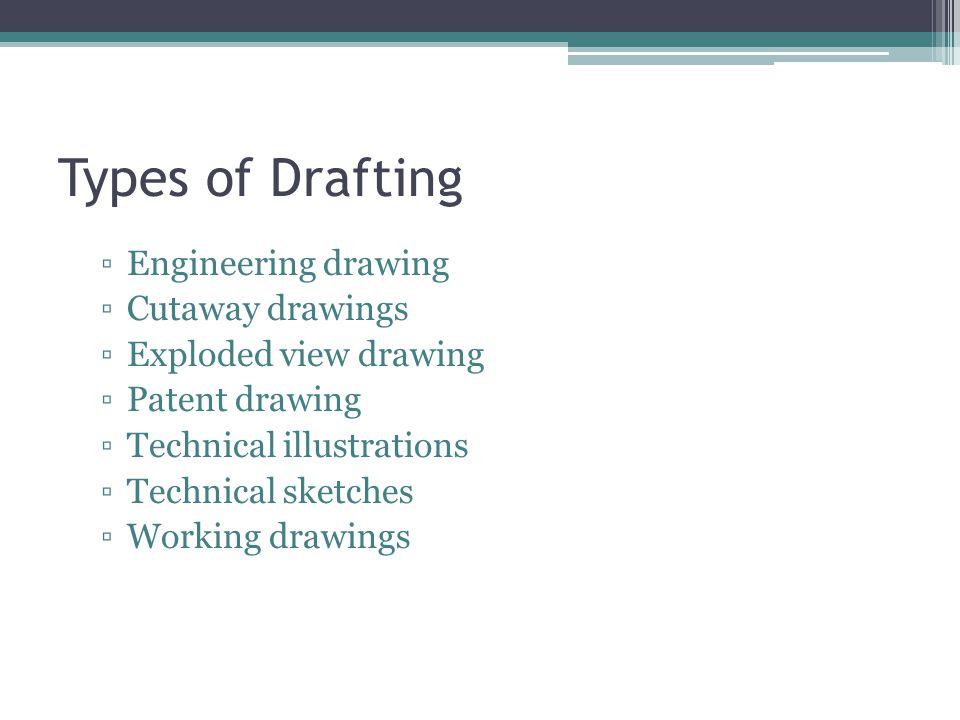 Types of Drafting Engineering drawing Cutaway drawings