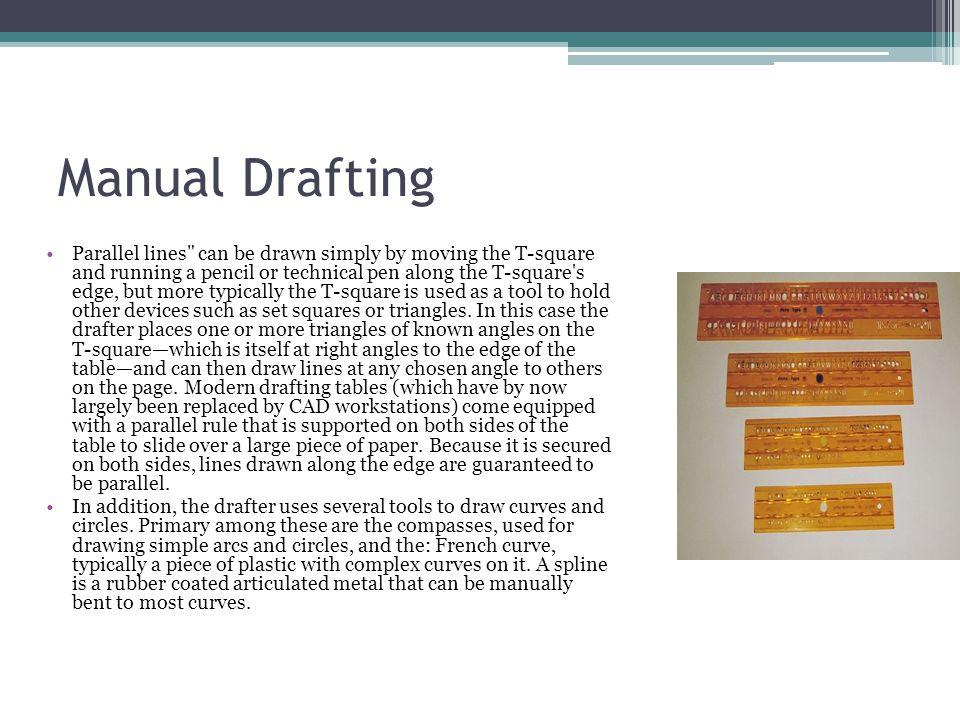 Manual Drafting
