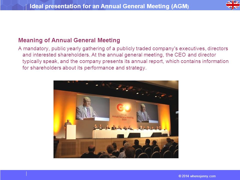 Meaning of Annual General Meeting