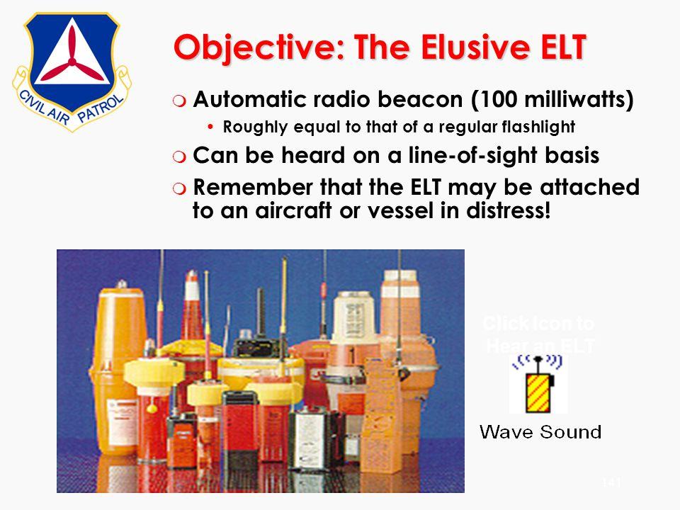 Objective: The Elusive ELT