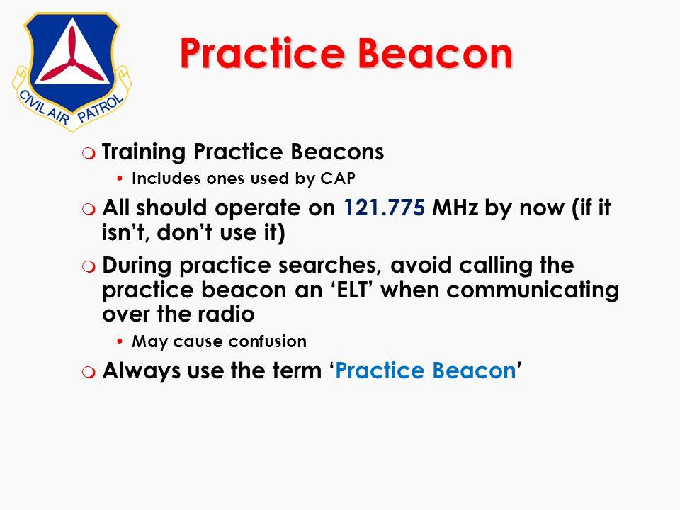 Practice Beacon Training Practice Beacons